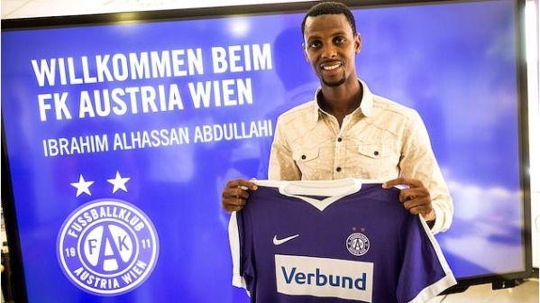 Alhassan Ibrahim joins Austrian Wien on loan