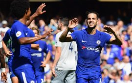 Champions Chelsea beat Everton again, as Stoke City hold West Brom