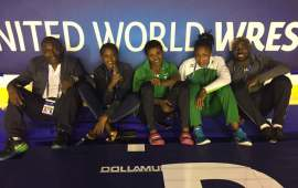 Nigerian wrestlers begin campaign at the World Championship today