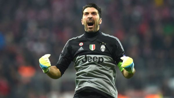 Juventus goalkeeper Buffon, two others listed for UEFA top award