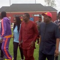 Kanu with other dignitaries