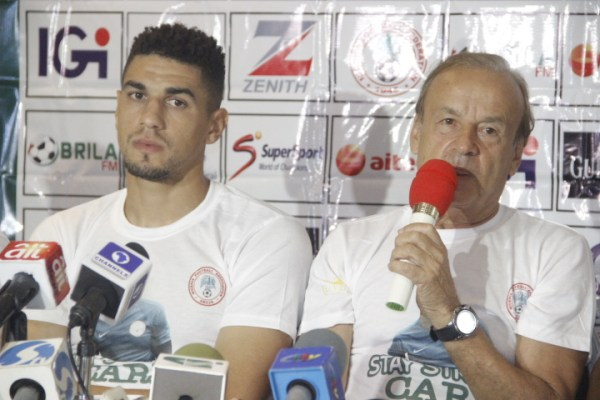 Eagles to play for Ikeme, as Rohr talks up players' fitness