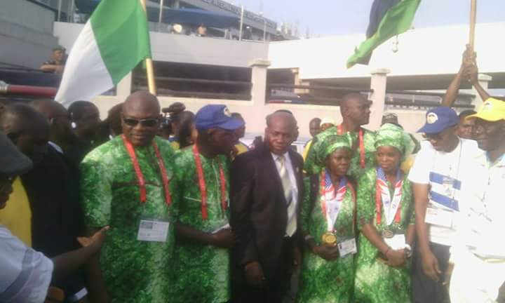 World Police Games aftermath: Nigeria Force arrive; plan to take over sports in the country