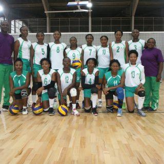 Team Nigeria ahead of Cote D'Ivoire match