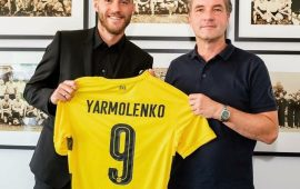 Dortmund confirm Yarmolenko signing