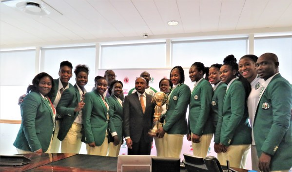 Zenith Bank showers D'Tigress with cash gifts for Afrobasket success