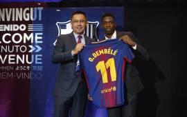 Barcelona complete Dembele transfer