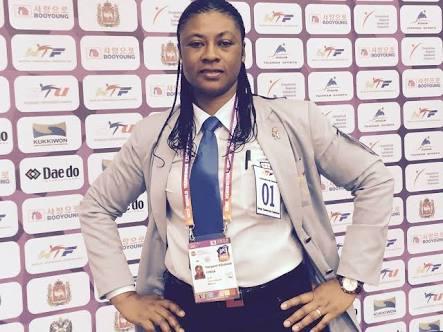Margaret Binga is first female Nigeria Taekwondo Federation President