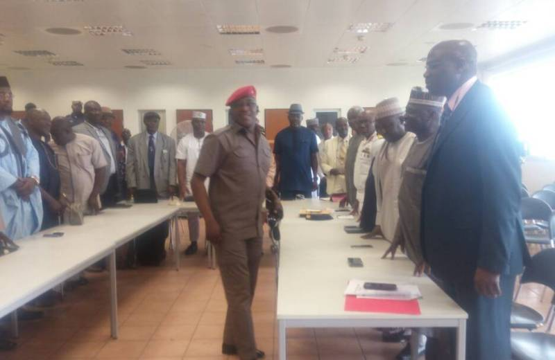 Dalung directs former Federation Presidents to hand over to new board members