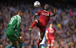 Mane out for six weeks with hamstring injury