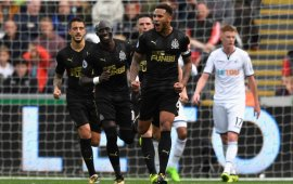 Lascelles' header downs Swansea, as Burnley compound Palace's woes