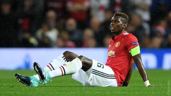 UCL: Man U win marred by Pogba injury, as CSKA Moscow edge Benfica in Lisbon