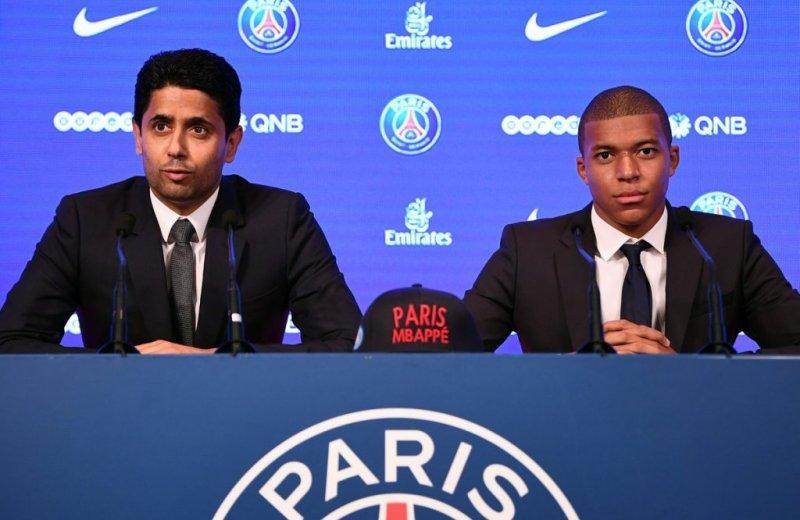 PSG unveil Kylian Mbappe in Paris