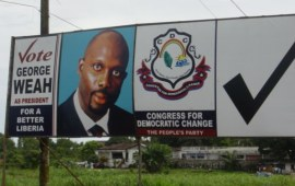George Weah elected Liberia president