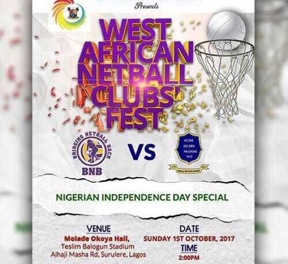 Lagos Sports Comm collaborates with BNB Club to revive netball in Nigeria