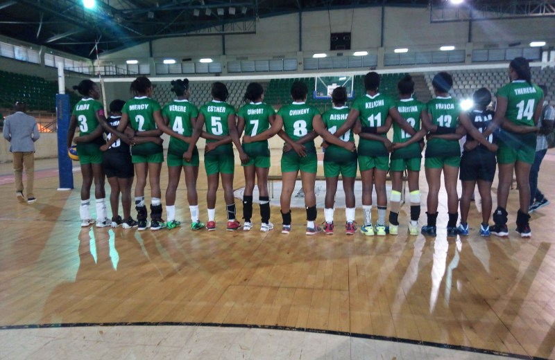 Volleyball Cup of Nations, Nigerian team locked out at the border