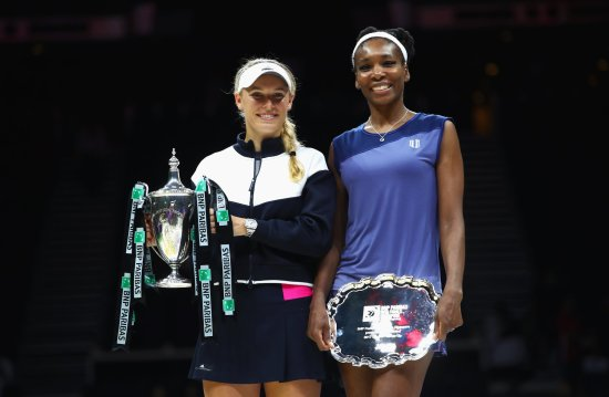 Caroline Wozniacki beats Venus Williams to win maiden WTA Finals title