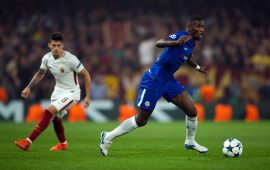 Roma charged for alleged racist chants at Antonio Rudiger