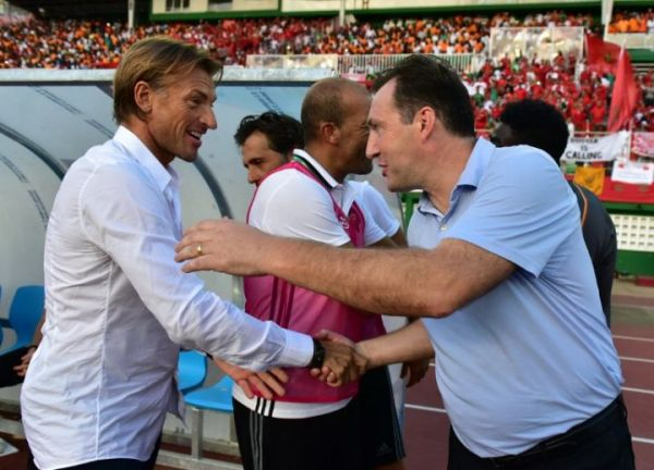 Renard: Morocco King called me after the final whistle