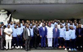 Governor Ambode hosts MFM FC; splashes N50m on club