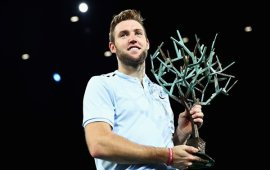 Jack Sock claims maiden Masters title and last spot for London ATP Tour Final