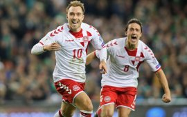 Denmark thrash Ireland, qualify for 2018 world cup