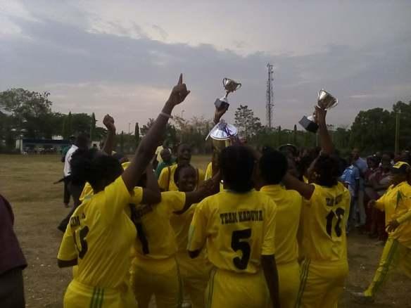 Kaduna State win of NCF National Women's Championship 2017