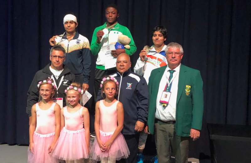 Dressman wins Gold, three others give Nigeria medals in SA