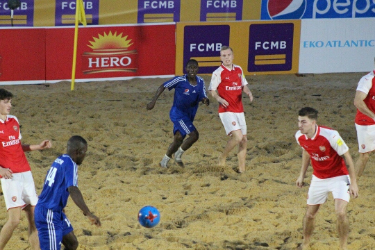 COPA Lagos: Pepsi Football Academy stun Arsenal BSC