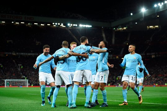 PL: City edge United to extend lead; 'patient' Everton cage Liverpool at Anfield