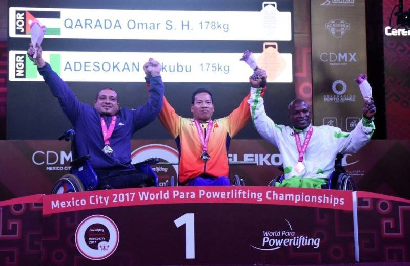 Para Powerlifting: Mixed outcome for Team Nigeria in Mexico