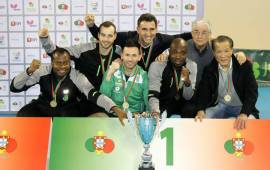 Table-Tennis: Quadri inspires Sporting to lift Portuguese Cup
