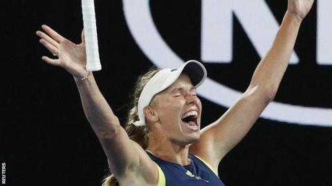 Aussie Open: Caroline Wozniacki ends Grand Slam title wait