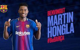 Cameroonian Martin Hongla joins Barcelona on loan