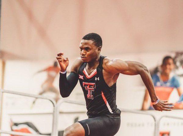 Athletics: Oduduru breaks school's 200m indoor record