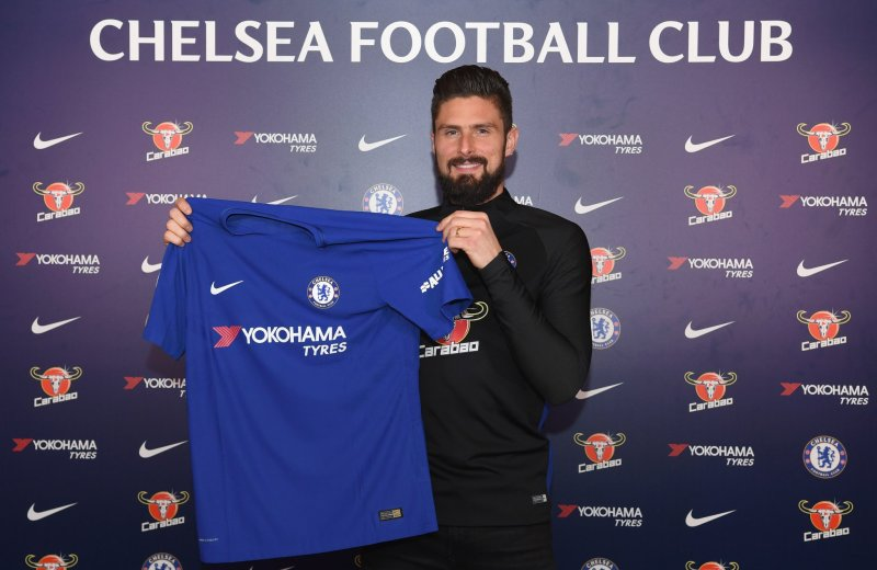PL: Giroud completes Chelsea transfer as Batshuayi joins Dortmund on loan