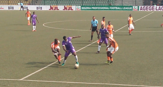 MFM FC 1-0 Akwa Utd:  Maikaba unhappy with referee as Akwa fall in Agege