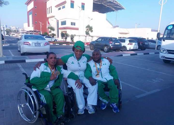 Nigeria Para Powerlifters claim World Cup gold