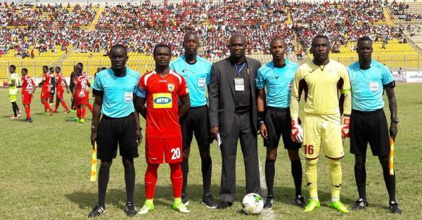 Valentine Promo? Referee awards five penalties in Asante Kotoko's CAFCC win