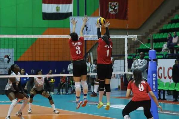 Volleyball: Al Ahly defeat Nigeria Customs