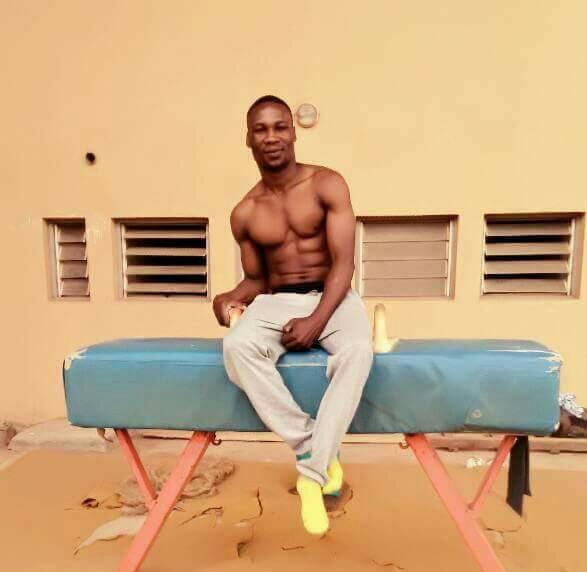 Nigeria gymnast, Tayo Fakiyesi ecstatic about Games