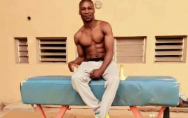 Nigeria gymnast, Tayo Fakiyesi ecstatic about Games
