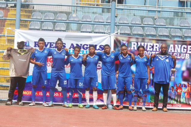 NWFL: Rivers Angels unveil new signings, kit sponsors