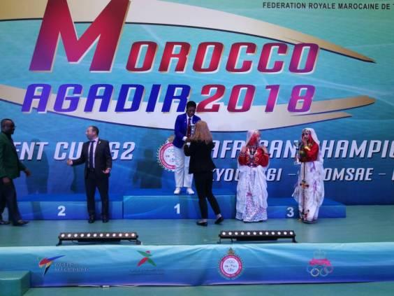 Taekwondo: Nwosu gets bronze, Binga best female referee