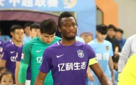 Mikel named among ten biggest stars in Chinese League