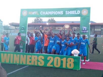 NWFL Champions Shield: Rivers Angels edge Nasarawa Amazons
