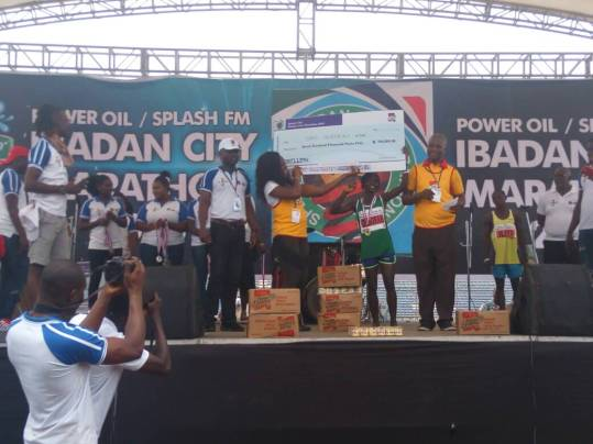 Iliya and Deborah Pam Win 2018 Ibadan City Marathon 2018