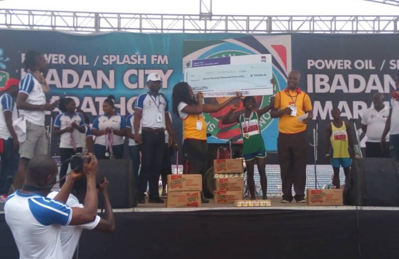 Iliya and Deborah Pam Win 2018 Ibadan City Marathon 2018