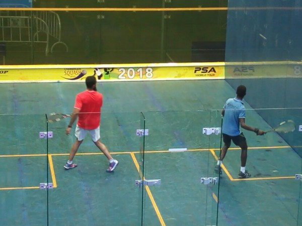 Chamberlain Squash Open: Mixed fortunes for Nigerians