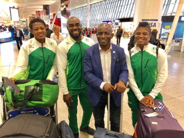 Nigerian Wrestlers Land in New York for Beat Event